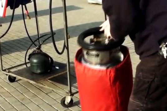 Kontrola palivových lahví