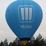 balon v.č. 736