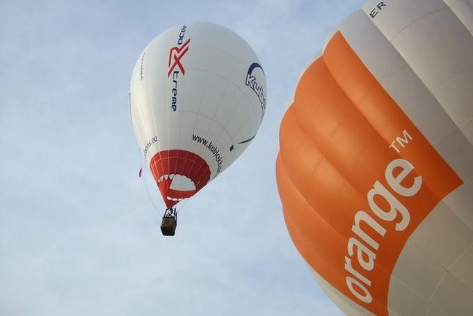 Balónová fiesta v Moldávii
