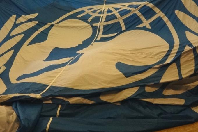 Balónový projekt pro UNICEF