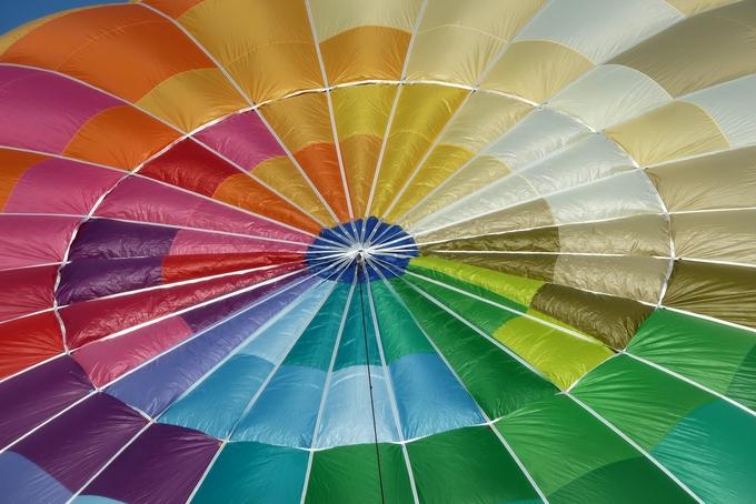 Další skladový balón