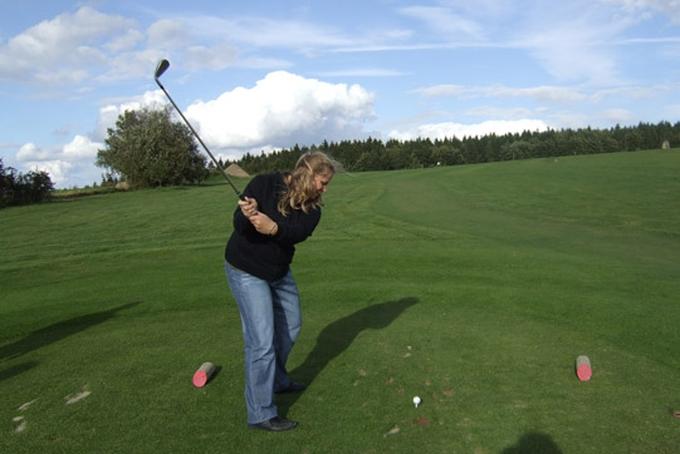 Golf v Kořenci