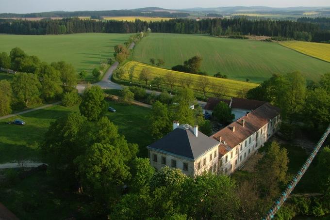 Školení pro piloty-žáky na zámku Radešín