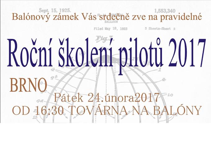 Školení pilotů 2017