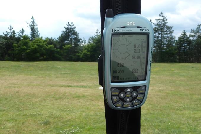 Flytec 6040 - nový přístroj do balónu s GPS