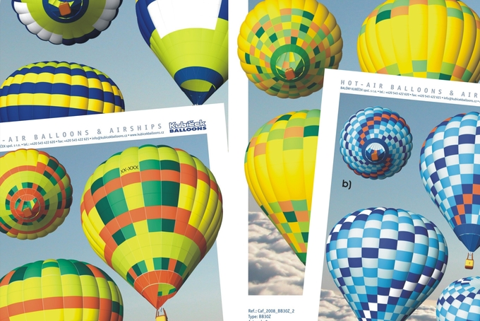 Širší nabídka skladových balónů