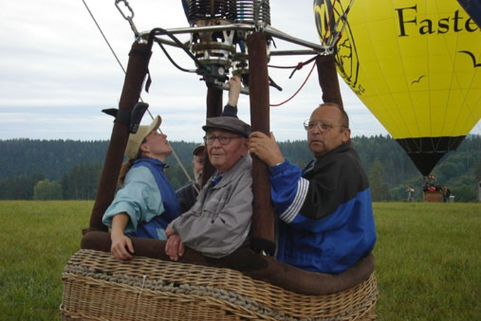 Nejstarší pasažér v Česku