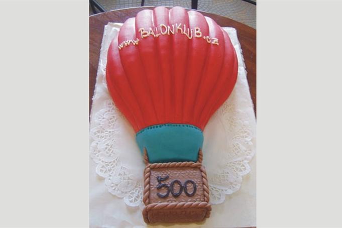 500. vyrobený balón Kubíček