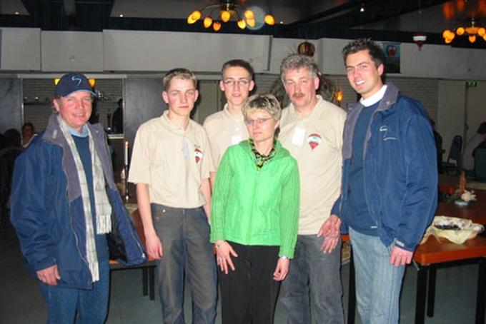 Oosterwolde, Holandsko 5. března 2005