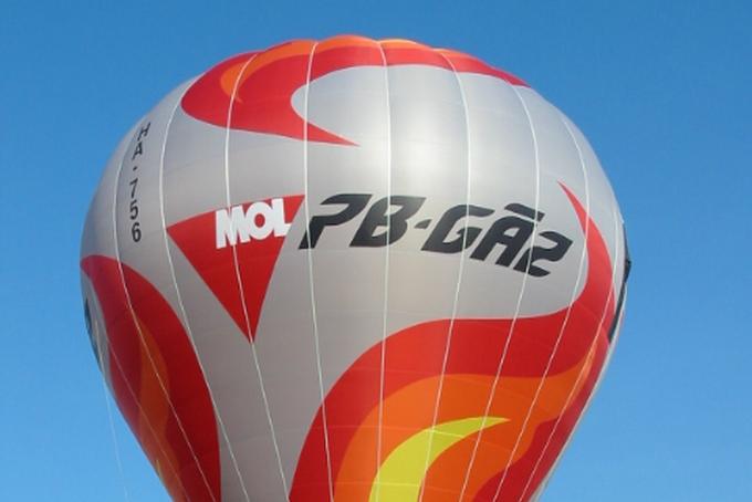 Prezentace sportovního balónu GP v Maďarsku
