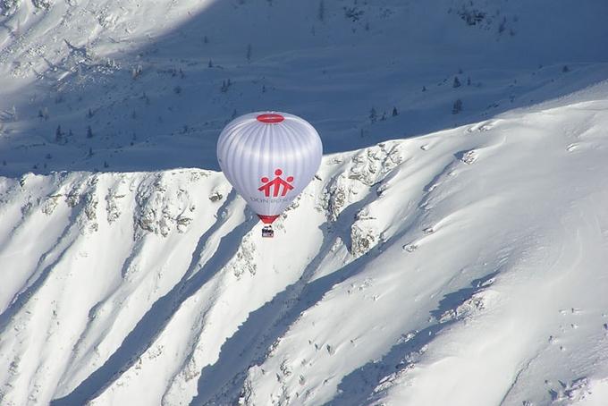 Další Kubíčkův balón v Alpách