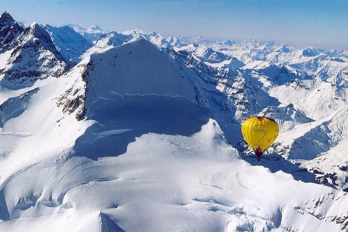 Kubíček Demonstrátor nad Alpami