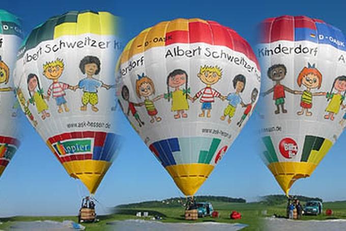 Balón plný dětí
