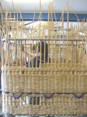 Pletení koše
