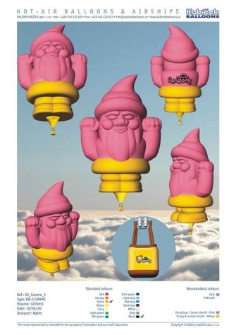 Gnome vizuál