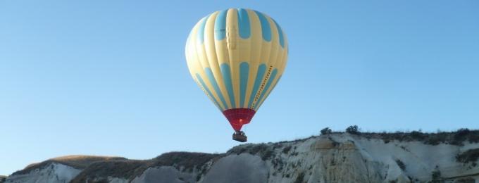 Balon v Turecku