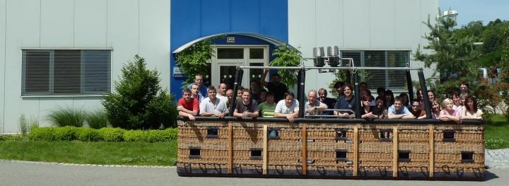 Zaměstnanci Balóny Kubíček